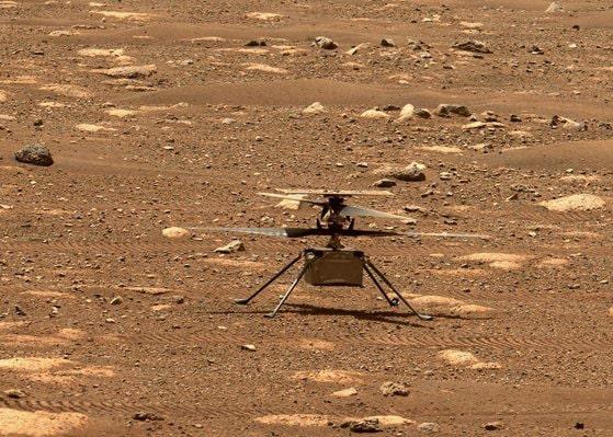 NASA amână zborul pe Marte al elicopterului Ingenuity